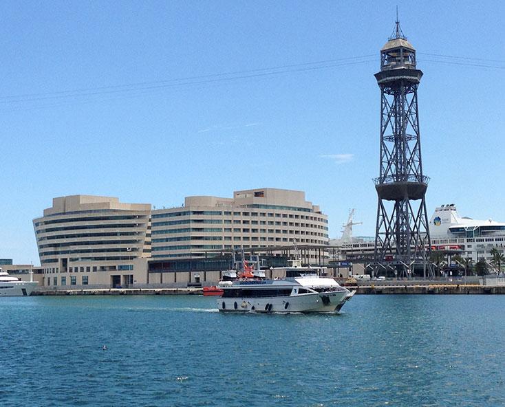 Boat Tour Barcelona Port