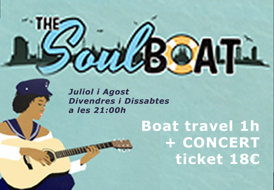 Boat tours The Soul Boat'